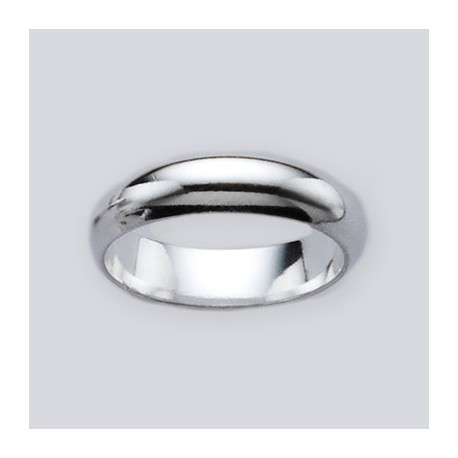 4MM Sterling Silver Band Ring